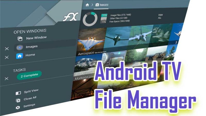 Android TV File Manager