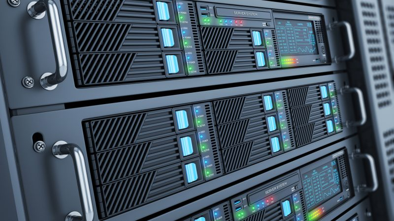 The different types of servers that ecommerce firms use